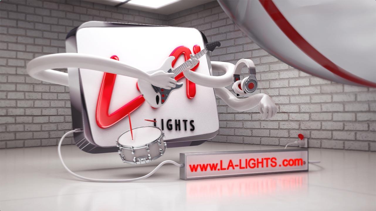 LA Lights Installation